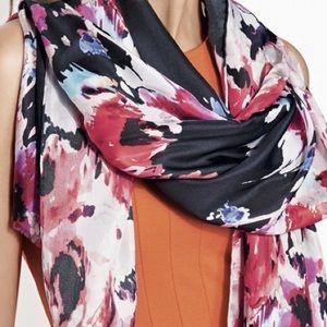 NWT Kate Spade Silk Floral Scarf