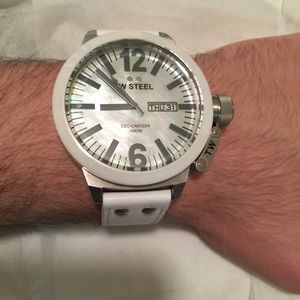 Tw steel Accessories - White tw steel watch