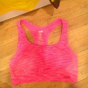 Hot pink sports bra sz L