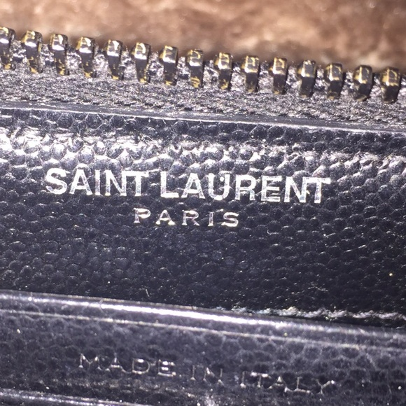 13% off Yves Saint Laurent Handbags - MONOGRAM YSL ZIP AROUND ...