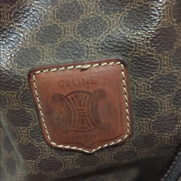 celine mini luggage black price - 100% off Celine Handbags - Authentic vintage Celine purse with ...
