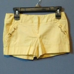 Urban Vibe Size Small (1/2) Yellow Shorts