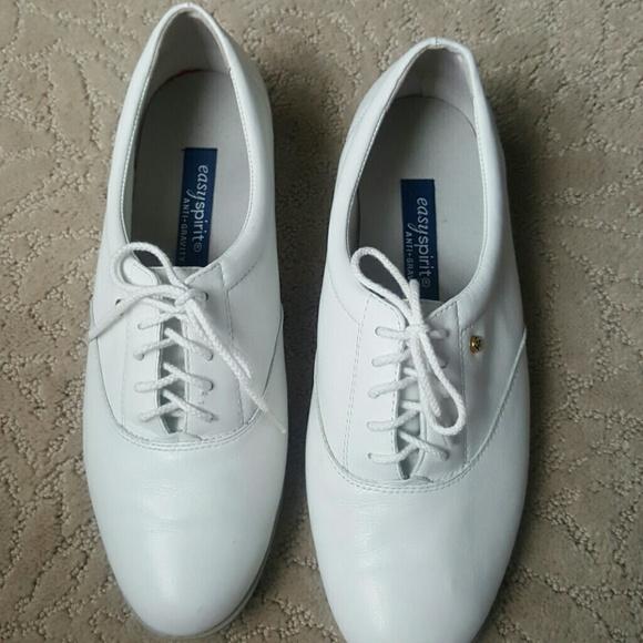 068563c9e6 Easy Spirit Shoes - White Easy Spirit Anti-gravity Tennis Shoes