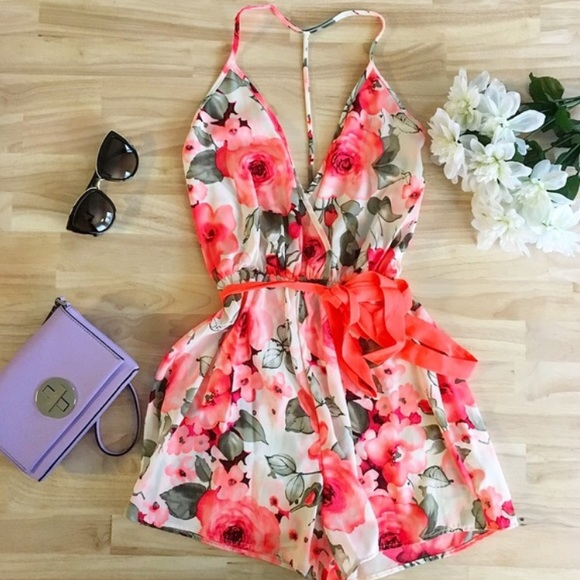 Citrus and Lavender Lane Dresses & Skirts - 1 LEFT! Ivory Rose Romper