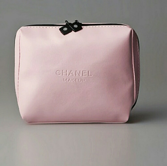 4280ff92b251 CHANEL Accessories | Last One Pink Makeup Case Pouch Bag | Poshmark