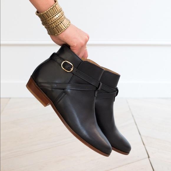 29% off Shoes - Low Montana Boots - Sézane - black ankle boots ...