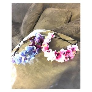 Accessories - Flowers headband bundle.Not for sale