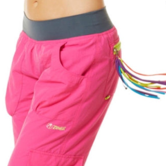 71% off Zumba Pants - 💥Reduced💥Zumba Pink cargo pants. Like New ...
