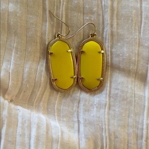 30be90975dcc5 Kendra Scott yellow Elle earrings