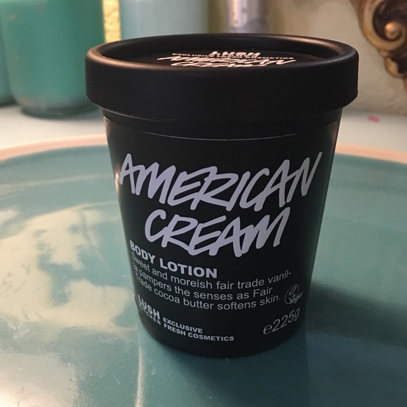 23% off lush other - lush american cream body lotion uk kitchen