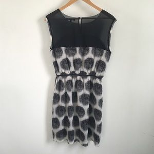 "Madewell Dresses - Madewell black and white ""Shady Lane"" dress"