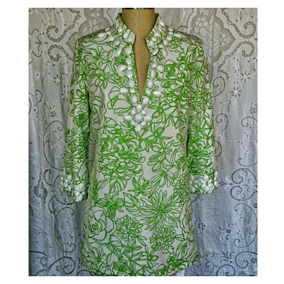 9643cde076f857 Lilly Pulitzer Tops - Lilly Pulitzer Newbury Tunic