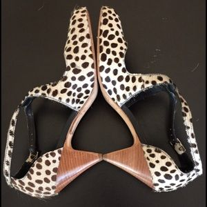 Rebecca Minkoff Calf-Hair Pumps 9.5 EUC