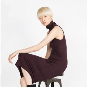 Zara Dresses & Skirts - Turtleneck tube dress