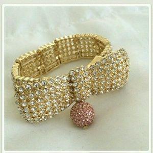 Ann Taylor Jewelry - Ann Taylor Brilliant Bow bracelet