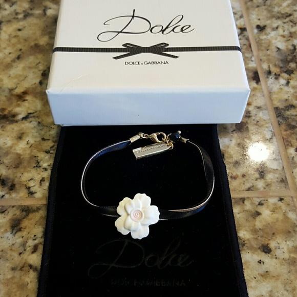 5eadf303 Dolce & Gabbana Jewelry | Nib Dolcegabbana Flower Bracelet | Poshmark