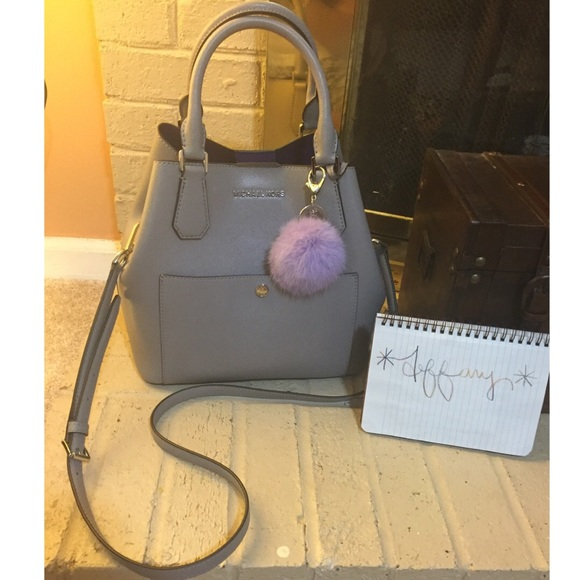 ✨Final Price✨ Large Saffiano Greenwich Pearl grey
