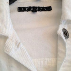 Theory Tops - SALE✅!!!THEORY white jacket