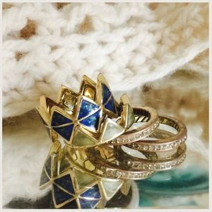 House of Harlow 1960 Stacking Rings