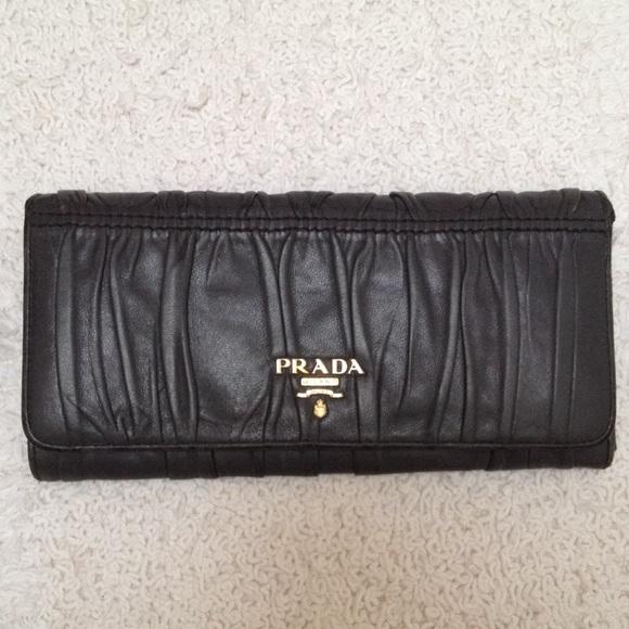PRADA - ?SOLD?- AUTHENTIC PRADA BR1269 Nappa Sirio Leather from ...
