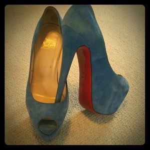 Christian Louboutin Shoes - 👑HOST PICK👑 Authentic Suede Louboutin