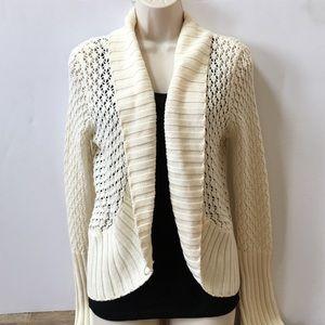 Daisy Fuentes Sweaters - NWT Daisy Fuentes Ivory Cardigan