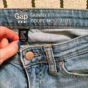 Gap Lightwash Ripped Jeans