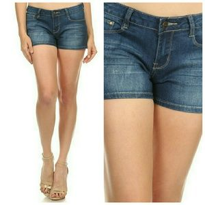 Majestii Pants - Claire Denim Shorts