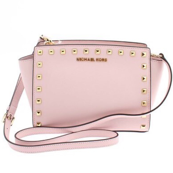 4db39091584c ... bag d537d d8197  best price michael kors studded selma 10c13 ff245