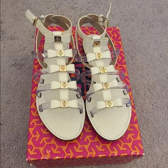Tory Burch Kira Bow Gladiator Sandals 6.5