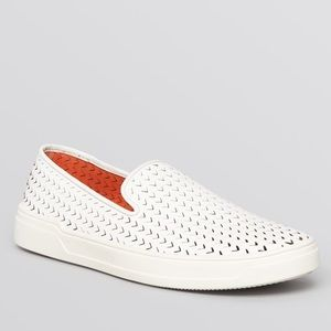 Via Spiga Shoes - Via Spiga White Slip On Sneakers