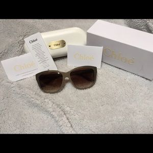 Authentic Chloe sunglasses.