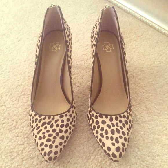 24e712786bd Ann Taylor Shoes - Ann Taylor Leopard Pumps