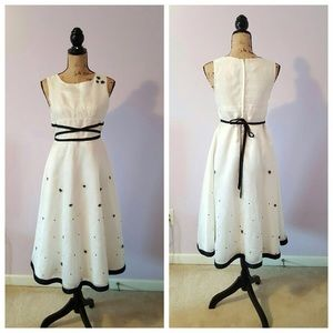 584b020df Dresses | Jcpenny Size 16 Junior Cream Color Dress | Poshmark