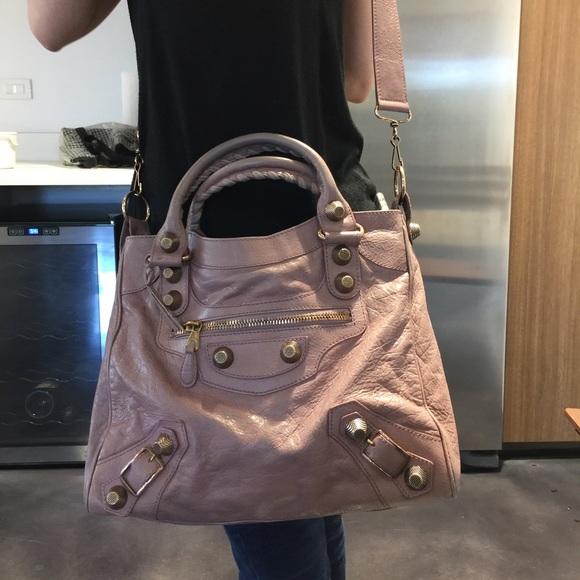 780b027394 Balenciaga Handbags - Balenciaga giant velo light pink bag