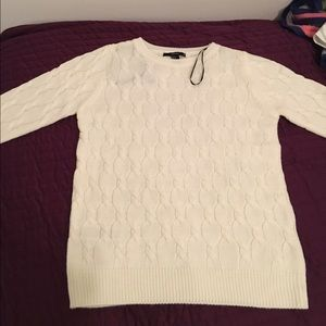 forever 21 cable knit sweater:)