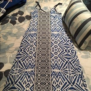 Mossimo Tribal Print Maxi Dress