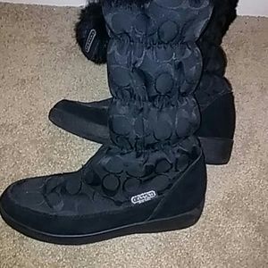 ugg style coach boots
