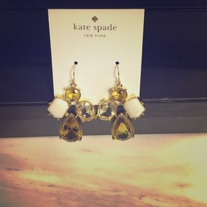 Kate Spade multicolored drop earrings