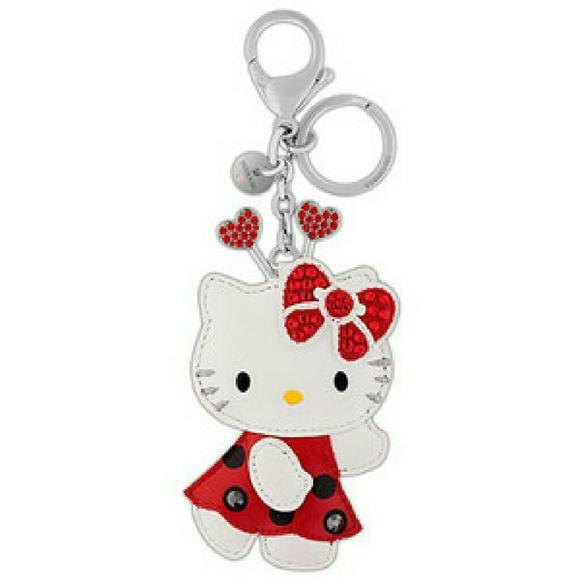 Swarovski Hello Kitty Ladybug Bag Charm 9bc2837e5be5e