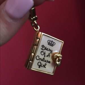 Jewelry - Diary of a Couture Girl charm LIMITED EDITION
