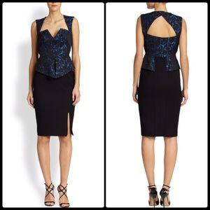 Black Halo Dresses & Skirts - BLACK HALO ♠️ Brocade Wiggle Dress NWT