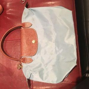 Longchamp blue bag- good condition