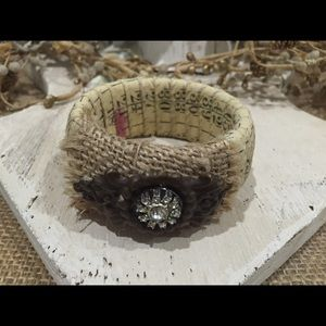 Anthropologie Jewelry - Sewing Craft Hardware Bangle