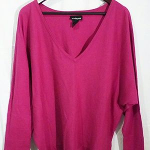 Lane Bryant knit sweater batwings long sleeve