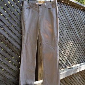 J. Crew Beige Corduroy Pants