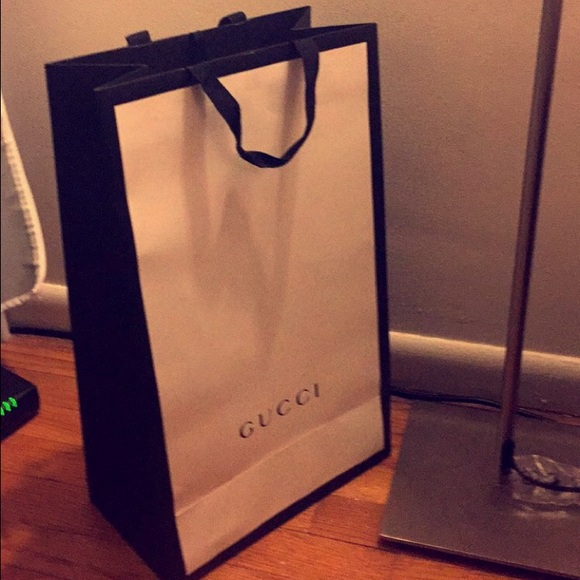 c65b2512f39 Gucci Other - New paper bag from Gucci