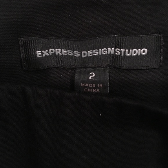 Express Design Studio Black Skirt