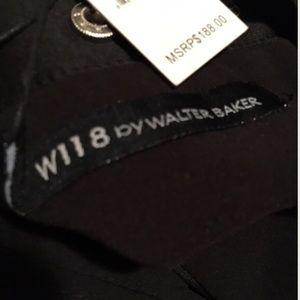 BLACK NWT WALTER BAKER  DRESS SIZE MEDIUM