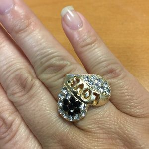 Jewelry - New Gold Love Ring - Size - Adjustable
